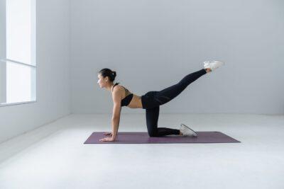 Hatha Yoga Woman sanft