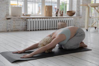 Yin Yoga Übung Entspannung